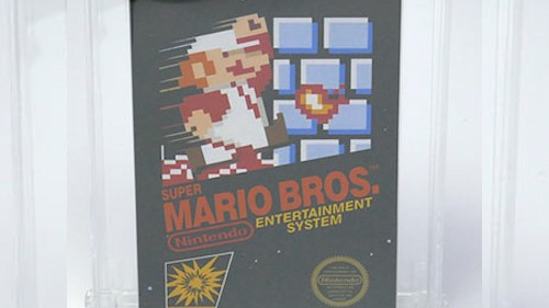 Sealed Copy of 'Super Mario Bros.' sells for over $100,000 in auction