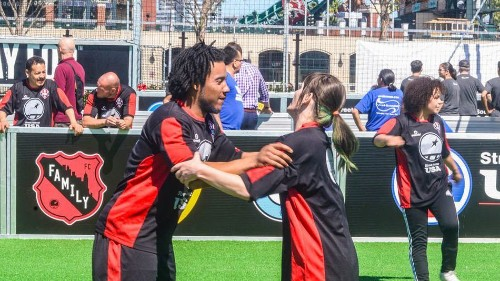 A young man rebounds from homelessness and drugs — with an assist from soccer