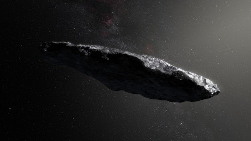 That interstellar visitor from another solar system wasn't an asteroid after all