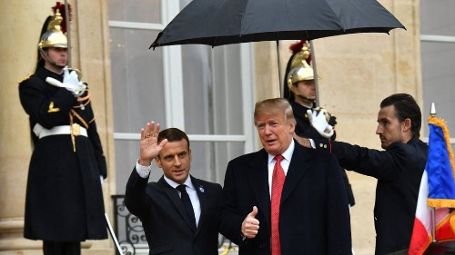 The French army just trolled Trump for his aversion to rain and it's deliciously brutal