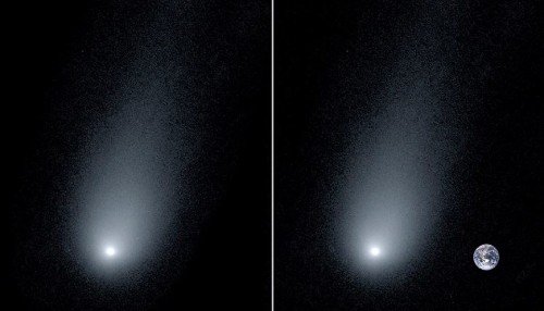 Astronomers Release New Close-Up Image Of An Interstellar Comet Coming Towards Earth - Science