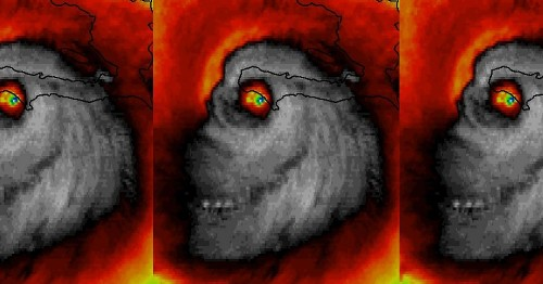 9 of the most fearsome, awe-inspiring views of Hurricane Matthew