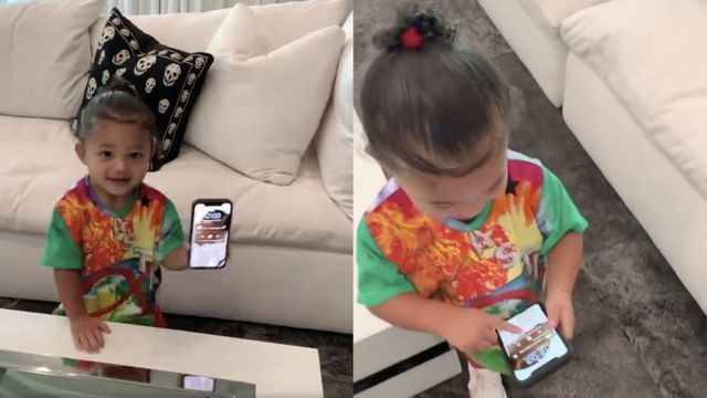 The internet loves it, but Stormi isn't into Kylie Jenner's 'Rise and Shine' song