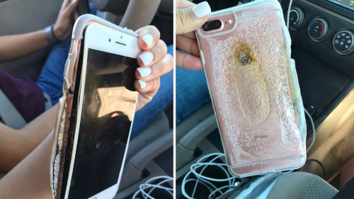 Apple to investigate iPhone 7 that 'blew up'