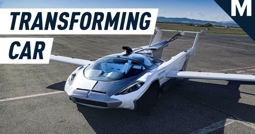 This transforming car goes from road to the skies in minutes