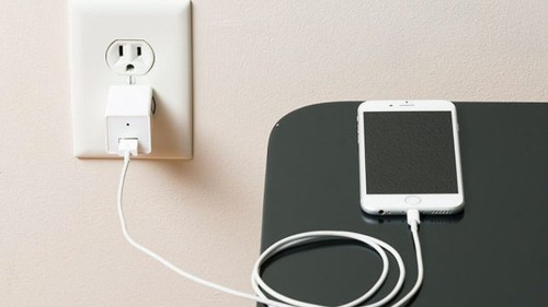This phone charger is also a hidden security camera