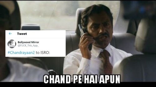 Ganesh Gaitonde's 'Chand Pe Hai Apun' Scene From 'Sacred Games 2' Trends After Chandrayaan 2 Enters Lunar Orbit