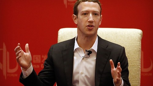 Mark Zuckerberg ditches power hoodie to impress Chinese officials