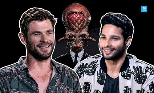 Siddhant Chaturvedi Gets Chris Hemsworth To Translate Iconic Bollywood Dialogues!