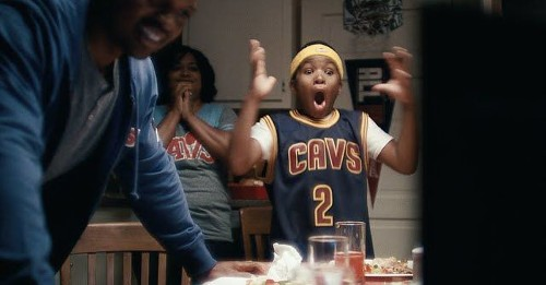 Nike celebrates LeBron's NBA win with a nod to Cleveland fans