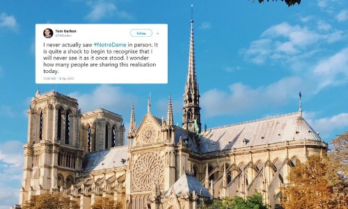 People Are Sharing Fond Memories Of Notre Dame After the Devastating Fire