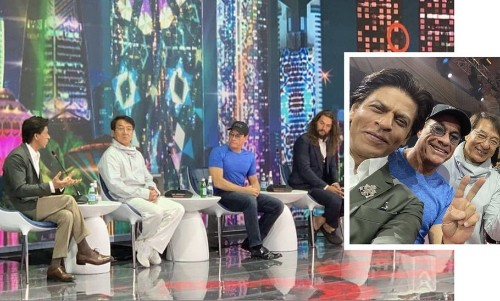 Shah Rukh Khan Met His Idols Jackie Chan, Jean-Claude Van Damme And Jason Momoa In Priceless Fangirl Moment