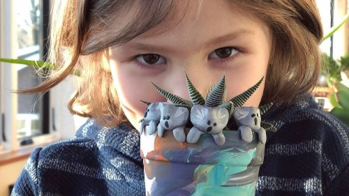 A 6-year-old has raised over $240,000 for Australia's bushfires making adorable clay koalas