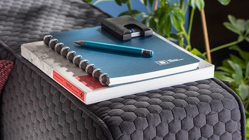 Goal-setting notebook (with removable pages) on sale