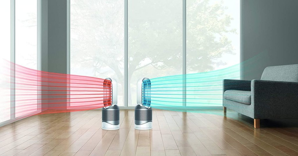 Keep your home fresh and warm with a Dyson Pure Hot + Cool