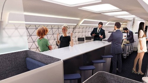 How Airbus wants to completely redesign airplane cabins