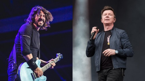 Dave Grohl and Rick Astley surprise London club with a live Rick-roll