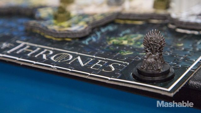 Stunning 'Game of Thrones' Puzzle in All Its 3D Glory