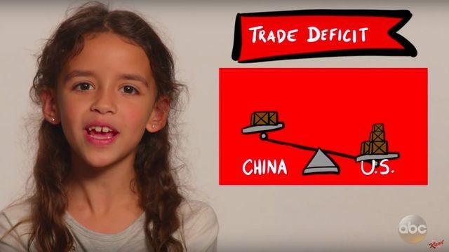 Watch this 2nd grader explain to Donald Trump how trade deficits work