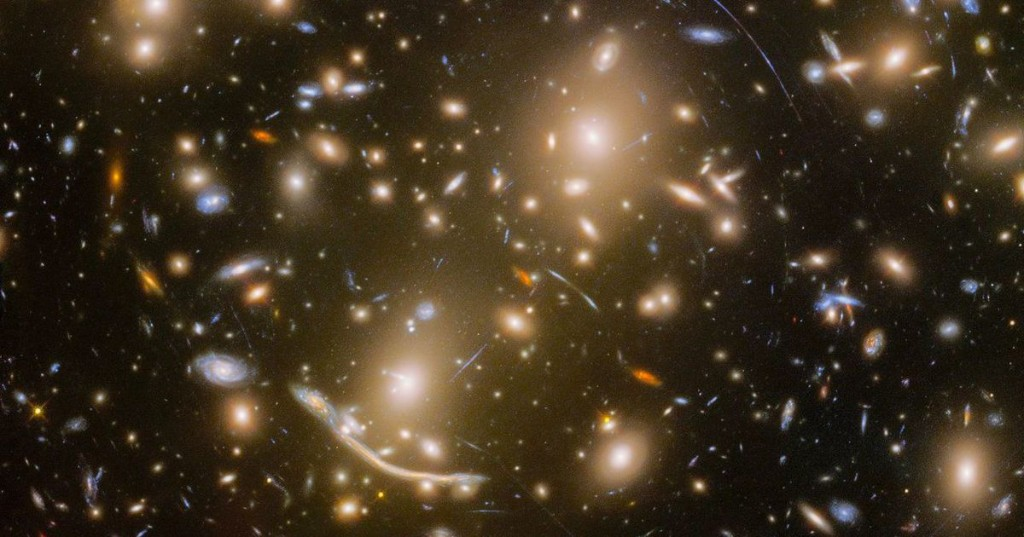 These shining cosmic objects aren't stars. Take a closer look