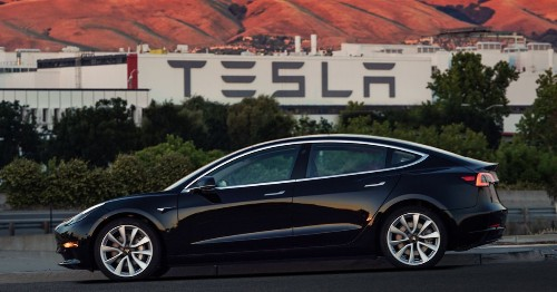 Tesla Model 3 named top EV in Consumer Reports annual list