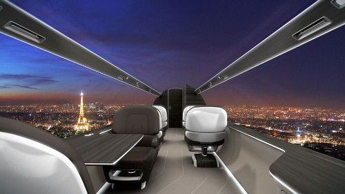 Windowless Airplane Will Give Passengers High-Res Panoramic Views