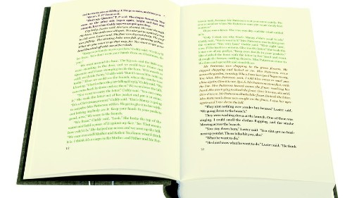 Can text in different colors help you tackle the most difficult books?