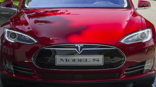 Elon Musk says monster Tesla seen on racetrack will go into production by summer 2020