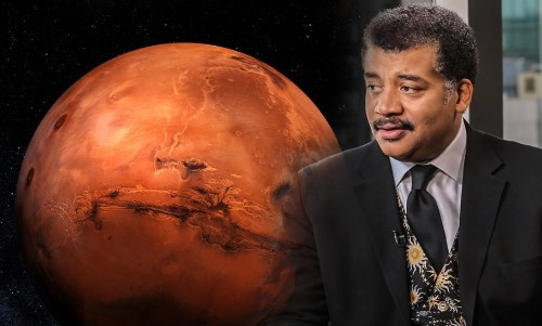 When Neil DeGrasse Tyson Set Out A Plan To Put Humans On Mars 'In 10 Months'