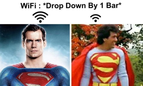 These 'WiFi Bar Drops' Memes Are Better Than Your Internet Connectivity