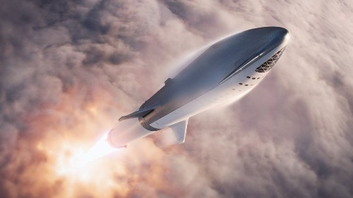 SpaceX tests starship's heat shield tiles