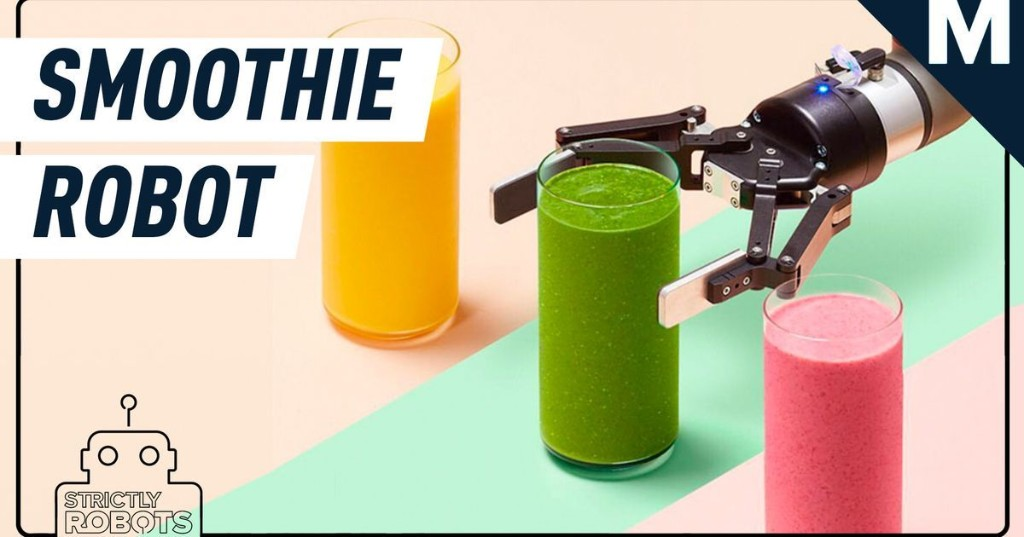 Meet the $70,000 robot that makes you a smoothie — Strictly Robots