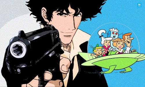 Artist Imagines 'Cowboy Bebop' Characters As 'The Jetsons In Ambitious' Cartoon-Anime Crossover