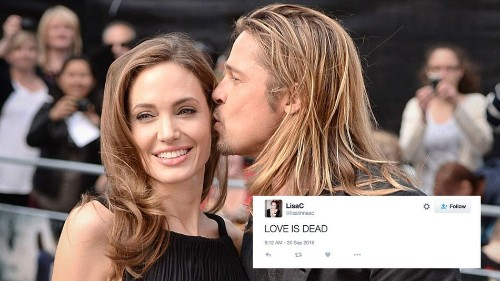 Love is dead: The internet freaks out after Angie breaks up with Brad