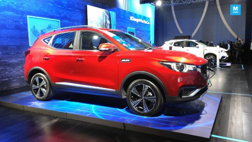 MG ZS EV Electric SUV Unveiled In India; Launch Due In January 2020 - Tech