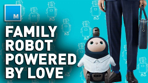 This cute robot functions using the 'power of love' — Future Blink - Tech