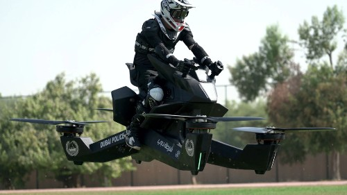 Holy moly, Dubai's police force is testing hoverbikes