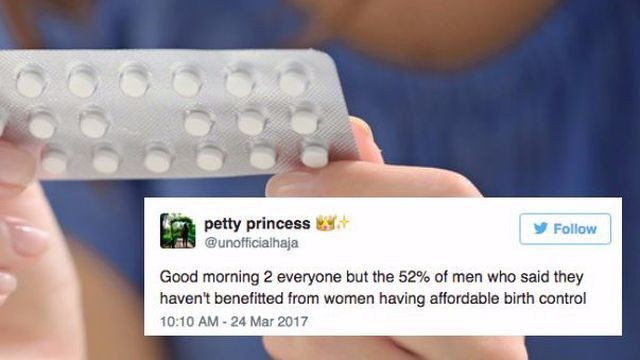 Women are calling men out for their ridiculous birth control opinions