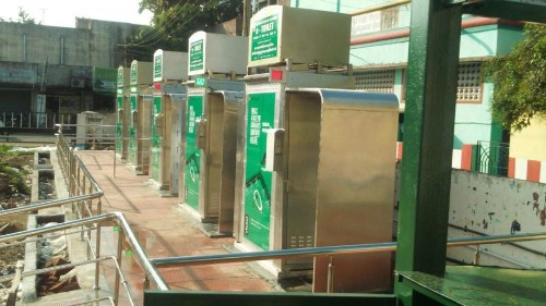 Chennai gets India's first self-cleaning smart toilets
