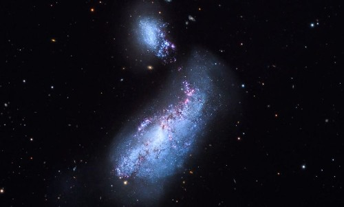 Astronomers Discover A Very Rare Double Nucleus In The Cocoon Galaxy - Science