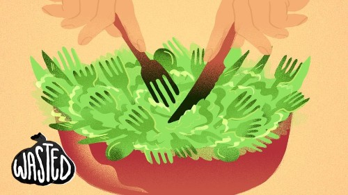Want to curb plastic waste? Eat your fork.