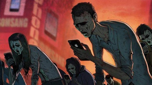 Twisted illustrations perfectly sum up the darker side of modern life