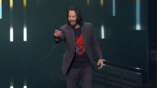Keanu Reeves stole the show at Xbox's E3 event