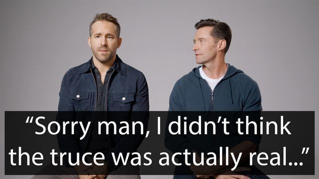 Hugh Jackman's commercial for Ryan Reynolds' gin company is hilariously brutal