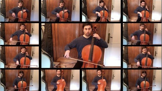 Man layers 13 cellos to create a beautiful cover of 'Song of Durin' from 'Lord of the Rings'