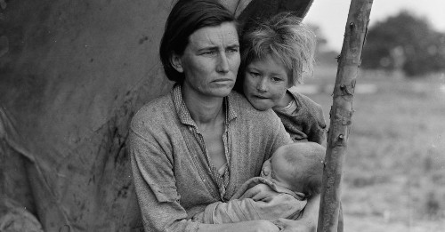 The hidden life story of the iconic 'Migrant Mother'