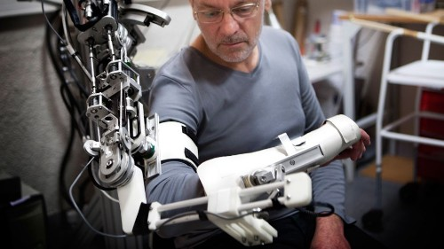 'Bionic spinal cord' aims to move robotic limbs with power of thought