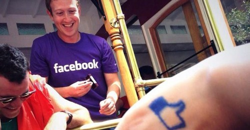 Mark Zuckerberg Appears in San Francisco's Gay Pride Parade