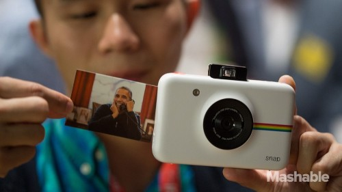 Polaroid's $99 ink-free Snap instant camera is a joy of a toy to use