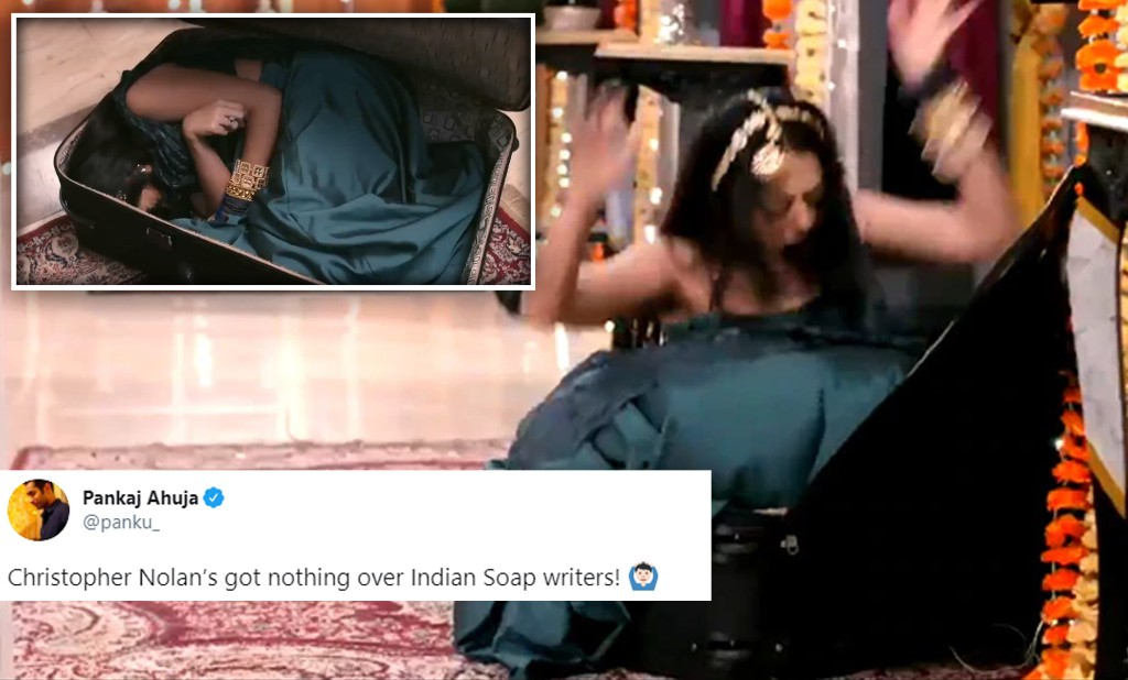 Actress Falls And Gets Trapped In A Suitcase On This TV Show; Twitter Won't Stop Talking About It